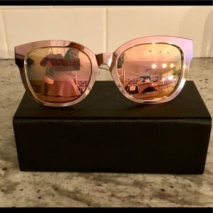 212fe46b0236 Dior Accessories - Dior  Diorama Caged Mirrored Sunglasses in pink
